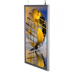 LED Ljuslåda med tryck - dubbelsidig