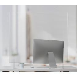 Bordsskärm i akryl/plexiglas – för skrivbord